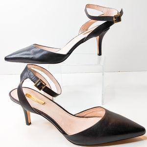 Louise et Cie Black Esperance Heel Pumps Size 10